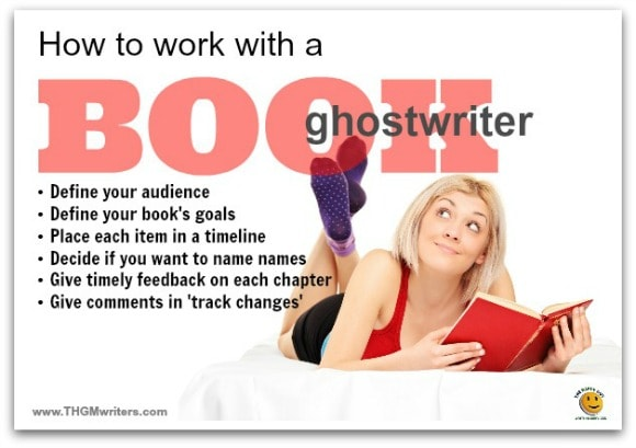 How to work with a book ghostwriter