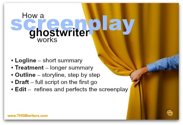 How a screenplay ghostwriter works