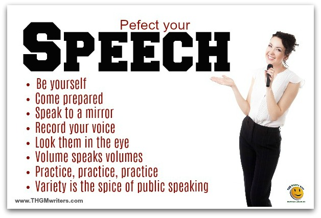 How to perfect your speech
