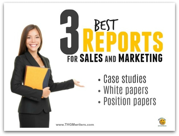 Reports for sales and marketing