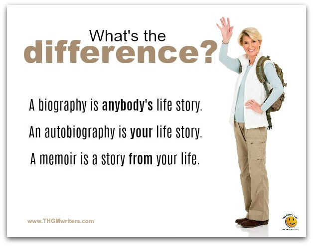 Biography, autobiography and memoir - what's the difference?