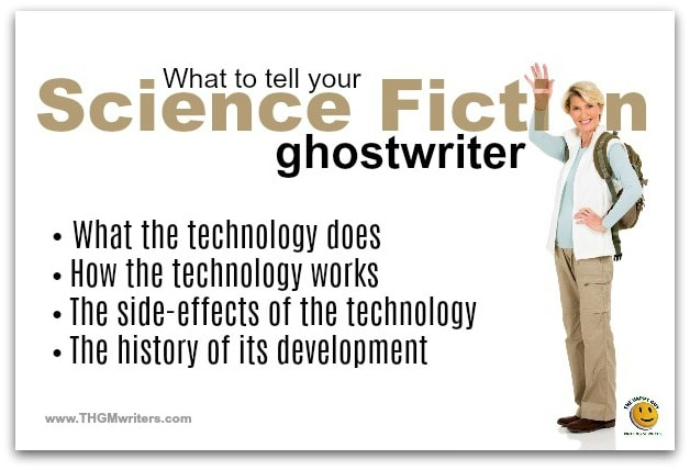 What to tell your Sci Fi ghostwriter