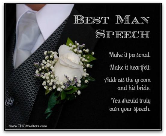 how to write a best man speech
