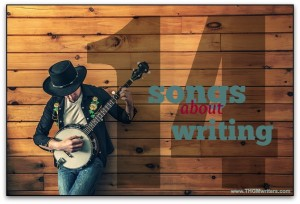 14 songs about writing