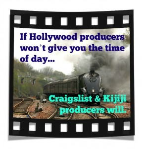 Try Craigslist to sell your screenplay