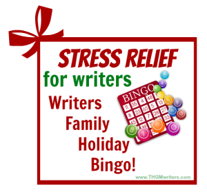 Bingo stress relief for writers at Christmas
