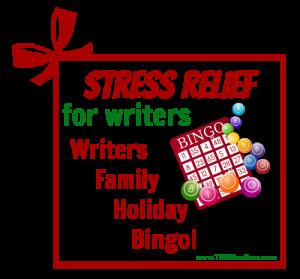 Writers Family Holiday Bingo