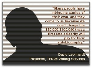 Ghostwriters for autobiographies