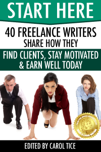 Start Here - top tips for freelance writers