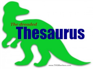 The dreaded Thesaurus