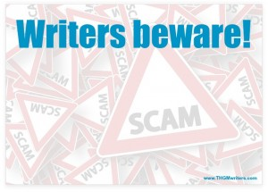 New Nigerian scam targets writers