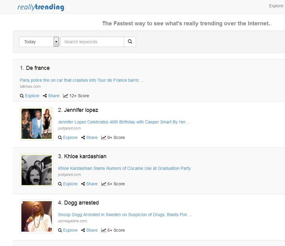 Really Trending