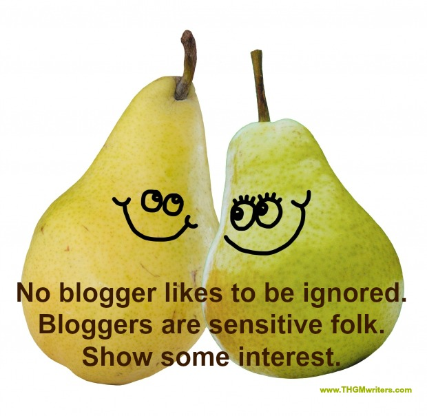 Bloggers love attention