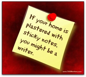 If your home is plastered with sticky notes...