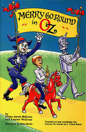 Merry Go Round in Oz - book cover