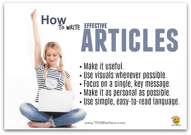 Write effective articles