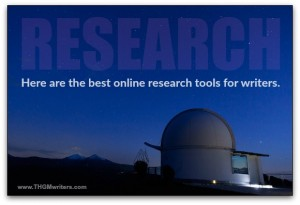 Online research tools for writers