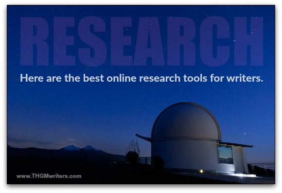 My favorite online research tools for writers