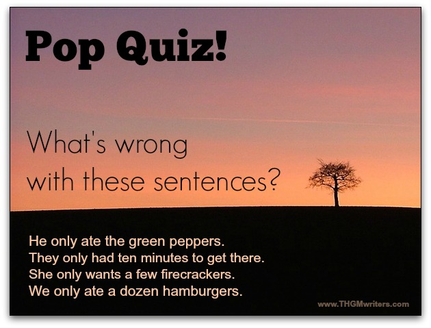 English grammar pop quiz