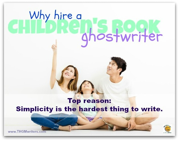 Why hire a children's book ghostwriter