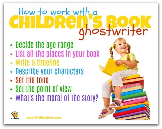 How to work with a children's book ghostwriter