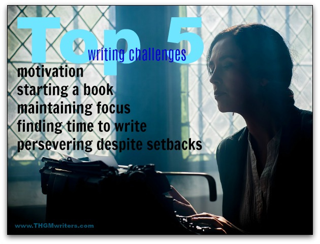Top 5 writing challenges