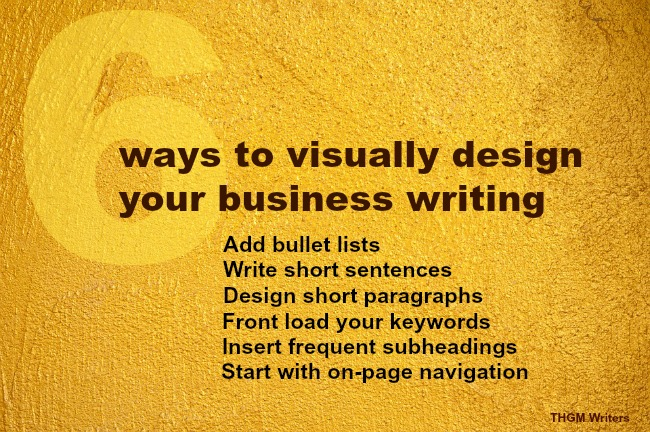 How to visually design your writing