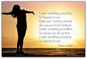Something amazing - lyrics