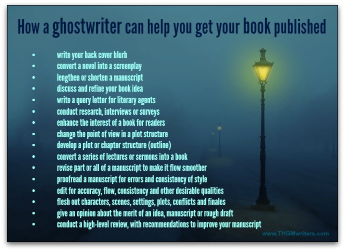 How a ghostwriter can help you get your book published