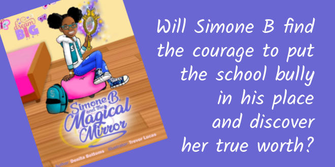 Quote from Simone B and the Magical Mirror - childrens book
