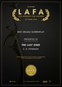 The Last Ones LAFA Best Drama Screenplay