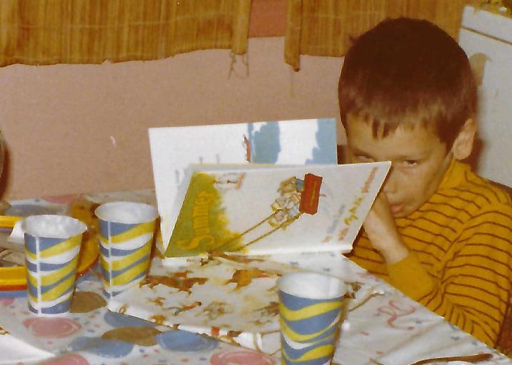 A young David Leonhardt reads Dr. Seuss (sort of)