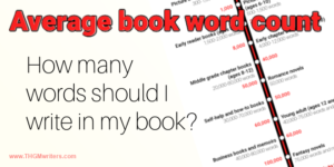 How many words should I write in my book?