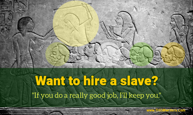 Want to hire a slave?